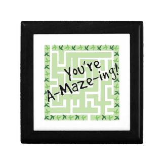 You're A-maze-ing Keepsake Boxes