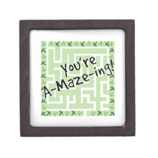 You're A-maze-ing Premium Keepsake Box