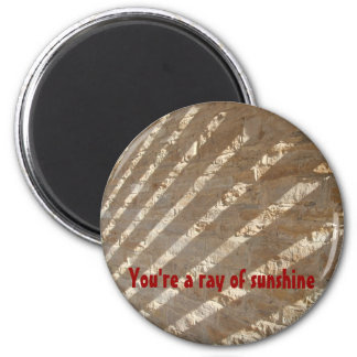 You're a ray of sunshine 2 inch round magnet