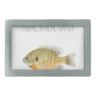 You're a real catch belt buckle