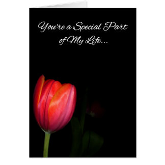 You're a Special Part of My Life... Card