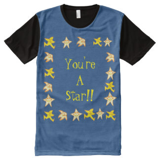 You're A Star All-Over Print T-shirt