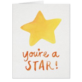 You're A Star Big Card