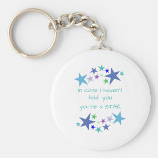 You're a Star Inspirational Quote motivational upl Keychain
