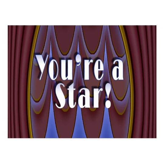 You're a Star! Postcard