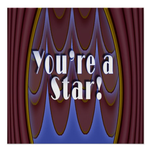 You're a Star! Poster