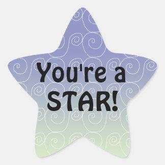 You're a Star Reward Stickers