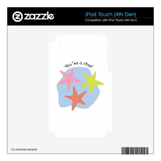You're A Star! Decal For iPod Touch 4G