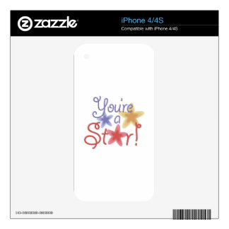 Youre A Star Skin For iPhone 4