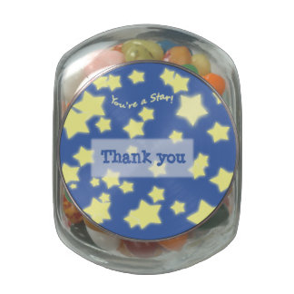 You're a Star! w/Message - candy jar Jelly Belly Candy Jars