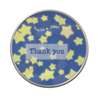 You're a Star! w/Message - see-thru candy tin