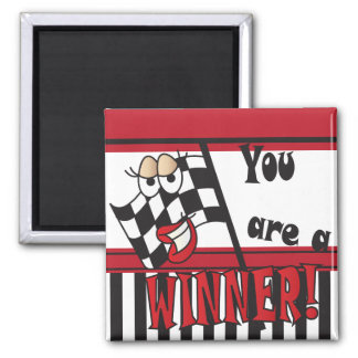 You're a Winner 2 Inch Square Magnet
