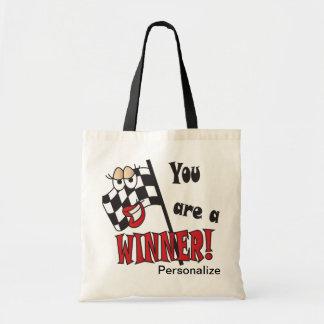 You're a Winner | DIY Name Tote Bag