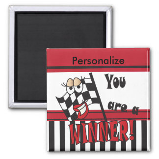 You're a Winner | Teacher 2 Inch Square Magnet