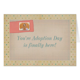 You're Adoption Day Card