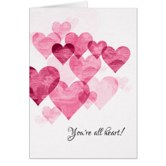 You're All Heart-Thank You Card
