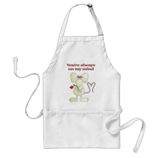 """You're always on my mind rat"" apron"