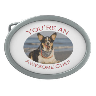 You're an Awesome Chef Oval Belt Buckle