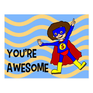 You're Awesome Postcard