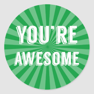 You're Awesome Stickers