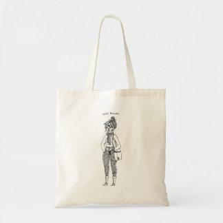You're Beautiful Monster girl Tote Bag