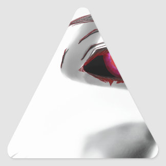 You're Being Watched Triangle Sticker