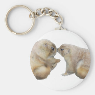 You're blessed groundhogs basic round button keychain