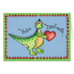 You're Dino-mite - Greeting Card