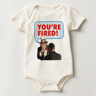 YOURE FIRED BABY BODYSUIT