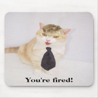 You're Fired! Mouse Pads