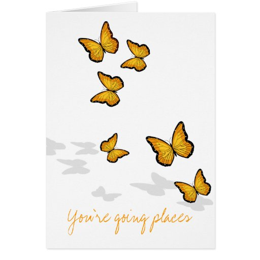 You're going places cards