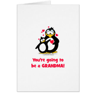 You're going to be a grandma card