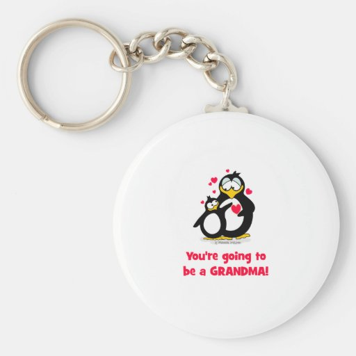 You're going to be a grandma key chains