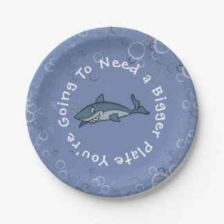 """""""You're Going To Need A Bigger Plate"""" Paper Plate"""