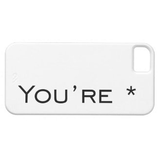 You're - Grammar Correction iPhone SE/5/5s Case