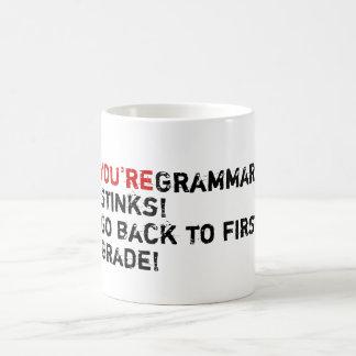 You're Grammar Stinks! Coffee Mug