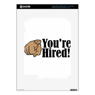 You're Hired! iPad 3 Skin