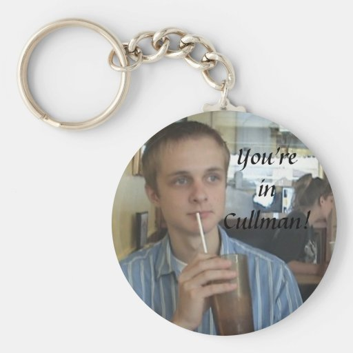 You're in Cullman! Keychain