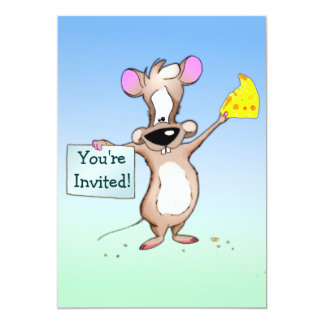 You're Invited 5x7 Paper Invitation Card