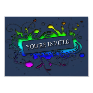 You're Invited Abstract Invitation