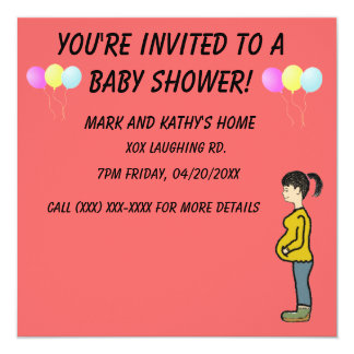 You're invited baby shower Invitation