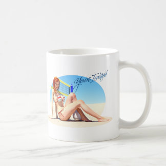 You're Invited Belle Classic White Coffee Mug