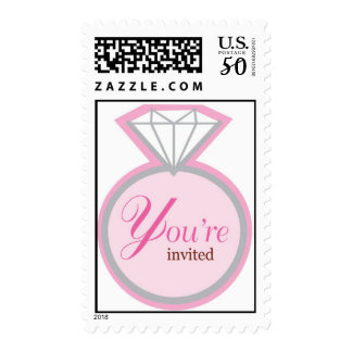 You're Invited - Bridal Shower Postage