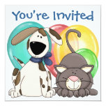 "You're Invited ! by SRF 5.25"" Square Invitation Card"