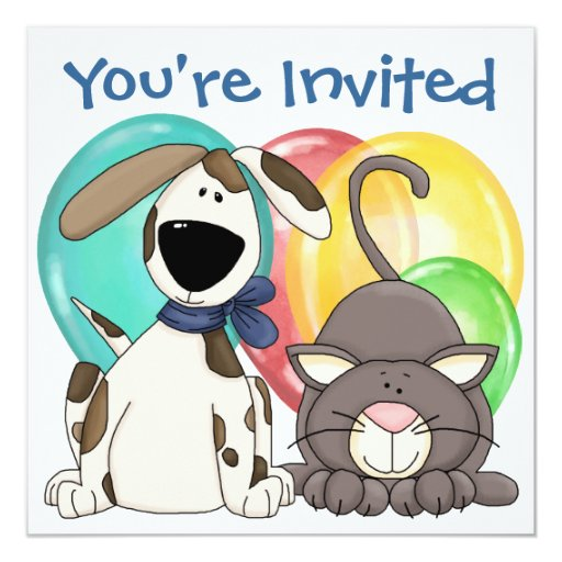 """You're Invited ! by SRF 5.25"""" Square Invitation Card"""