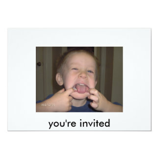 you're invited...... card