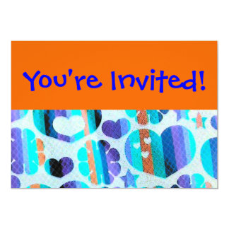 You're Invited!-Cartoon Look Design Card