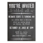 You're Invited Chalkboard Invitation