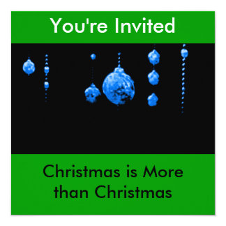 You're Invited Christmas is More than Christmas Card