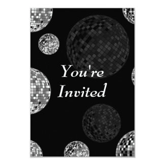 You're Invited - Disco Balls Card